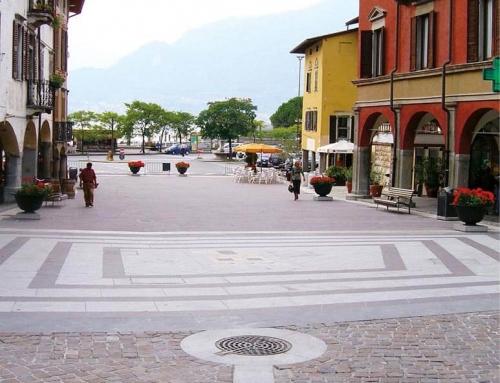 square in pisogne – vallecamonica porphyry