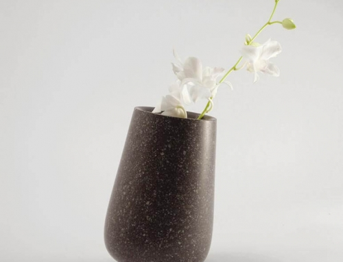 rocking vase – vallecamonica porphyry