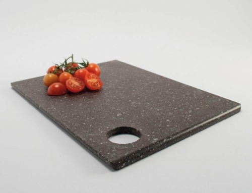 chopping board with hole – vallecamonica porphyry
