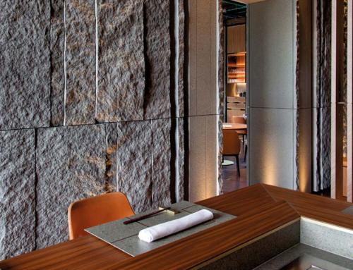 ristorante iyo omakase – porfido grigioverde
